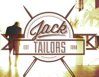 Jack Tailors Branding