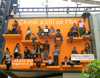 Ing Direct - Human Billboards