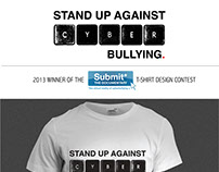 Stand Up Against Cyber Bullying.