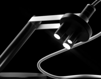 Microscope LED lamp