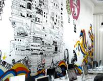 Mojo, Dubai - Large Scale Mural