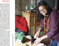 Kylie Kwong feature in Vital magazine