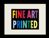 Fine Art Printed