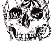 Black and White - Illustration