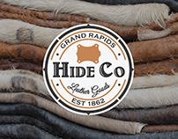 Grand Rapids Hide Co Brand Identity