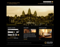 Golden Apsara Hotel Website