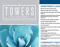 The Towers by the Park eblast and Flyer