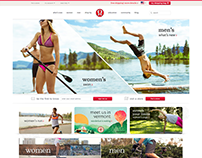 LuluLemon Previous Version Website Redesign