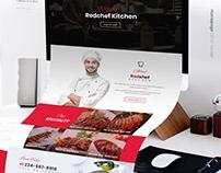Kitchen Website UI/UX