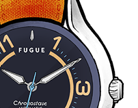 Fugue Watch - Illustrated tutorial