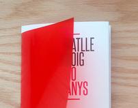 Imagen y catálogo exposición, BATLLE I ROIG, 30 ANYS.