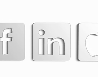 Inflated icons