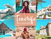 Free Tenerife Mobile & Desktop Lightroom Presets