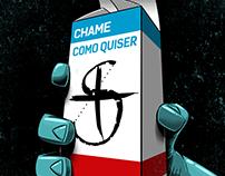 Chame Como Quiser - Album Cover