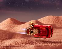 Lego Start Wars Poster