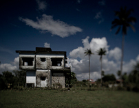 abandoned houses in kep, cambodia