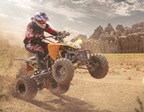 ATV Motocross Racing