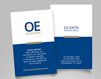 Logo for consulting company, flyer and stand