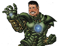 "Commission Green ""Iron Man"""