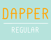 Dapper Display Font