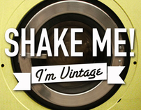 """Shake Me! I'm Vintage"" Web Tv Project"