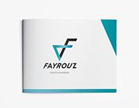 """Huisstijl """"Fayrouz"""" - archetype: the hero"""