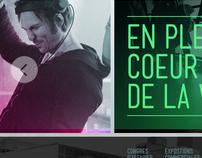Palais des Congrès de Montréal - Website (PITCH)
