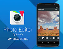 Photo Editor by Aviary (Android Material Design)