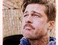 Brad Pitt - Traditional Art