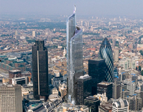 Pinnacle Tower, Bishopsgate, London, UK