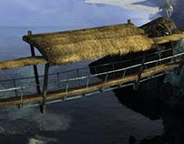 Guild Wars 2 - Krytan Rope Bridges