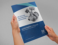 Auto Parts Catalog Brochure Template - 20 Pages