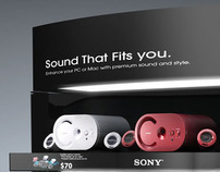 Sony Speaker Display