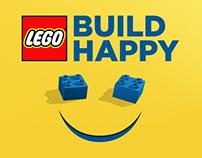 LEGO - Build Happy TVC / Pinterest / Ad Campaign