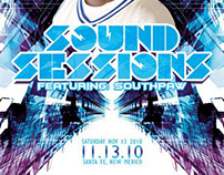 Sound Sessions Flyer