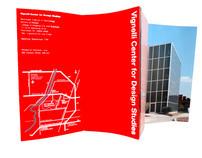 Vignelli Center for Design Studies Brochure
