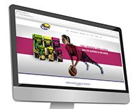 Banners de site Linha Fitness MAXXIOVOS
