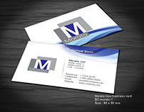 Work for sale - Morato business card