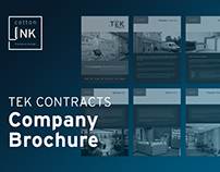 Tek Contracts Company Brochure | 2016