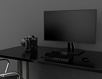 CGI of ViewSonic VP Series Monitors