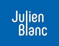 Logo typographique - Julien Blanc