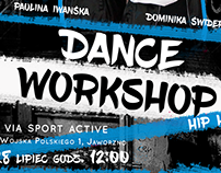 Posters - series of dance workshop