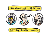 Foundation Skateboards x Brother Merle