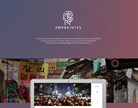 Webdocumentaire : Empreintes (de Paris à Busan)