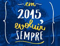 Calendário 2015 - Unipê