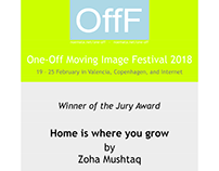 One Off Moving Image Festival - Home is Where You Grow