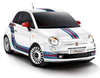 FIAT 500 MARTINI