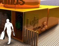 Optimus concept store/Google android exhibitor