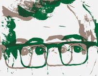 Woody Allen Poster Illustration