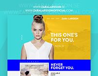 Zara Larsson : Web Concept